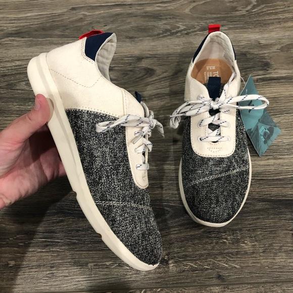 Toms Cabrillo Sneaker Birch Knit Canvas